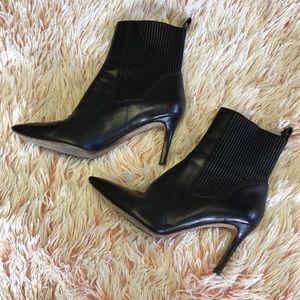 ⚡️FIRM⚡️ VIA SPIGA Black Leather Boots size 8.5